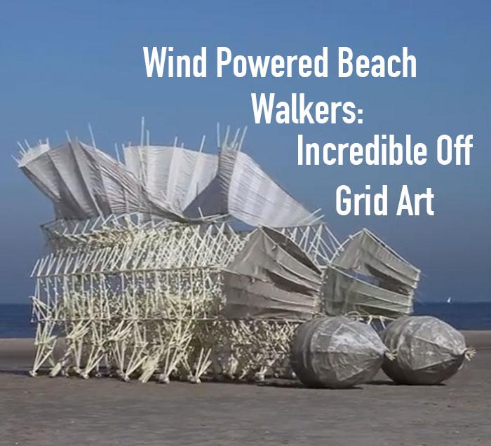 skulptura koju pokreće vetar