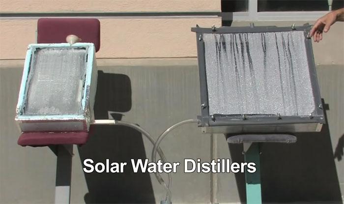 solarni prečišćivać vode
