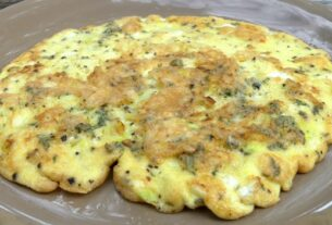 recept za omlet sa hajdučkom travom